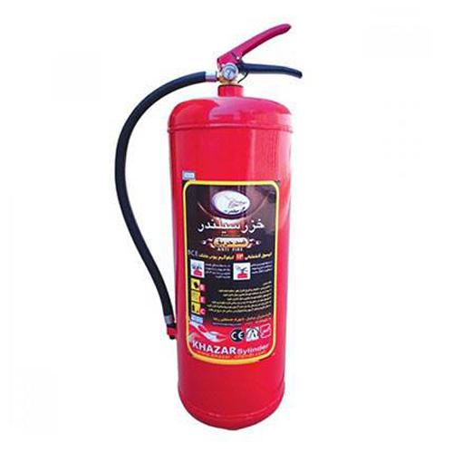 کپسول آتش نشانی 12 کیلویی پودر و گاز خزر سیلندر