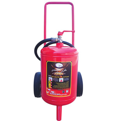 کپسول آتش نشانی 25 کیلویی پودر و گاز خزر سیلندر