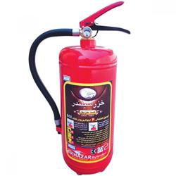 کپسول آتش نشانی 4 کیلویی پودر و گاز خزر سیلندر