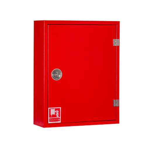 جعبه آتش نشانی استاندارد تک کابین فولادی روکار پامچال