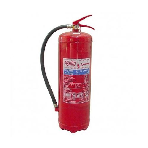 کپسول آتش نشانی 12 کیلویی پودر و گاز پیشرو